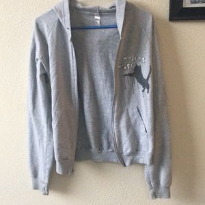 modest mouse jumping cat hoodie